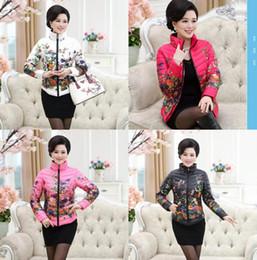 Wholesale Korean Down Coat Women - 2016 new winter coat slim down padded middle-aged cotton-padded clothes women Korean short Shitsuke winter cotton-padded jacket women clothi