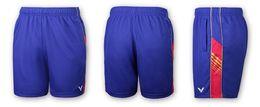 Wholesale Rio L - Victor Rio Olympic Lee Chong Wei Badminton shorts,new 2017 victor Table tennis Badminton Shorts For Women Men blue black M-4XL 6590 6690