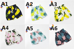 Wholesale Childrens Novelties - Wholesale ins Boys Girls Childrens Baby Cotton tshirts Clothing Summer Cute Letters Printed Fruits T-shirts Shorts Kids Clothes