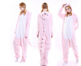 Wholesale Bear Men Costume - Wholesale Adult Onesie Animal Stitch Unicorn Panda Bear Koala Pikachu Onesie Adult Unisex Cosplay Costume Pajamas Sleepwear For Men Women