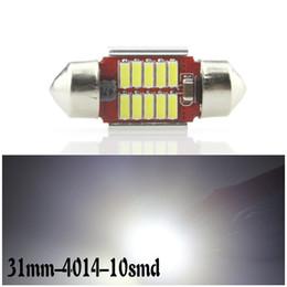luzes da cidade de honda Desconto Carro LEVOU leitura luzes duplo apontou 4014 12smd decodificação Promessa anti-alarme regulador de corrente constante