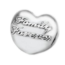 Wholesale Union Family - Pandulaso Family Union Clip Heart Shape Clip Beads For Jewelry Making Fit Pandora Bracelets & Necklace Woman DIY jewelry making