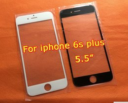 Wholesale Iphone 5s Front Lcd - For iphone 7 PLus Outer Replacement LCD Front Touch Screen Glass Outer Lens for iphone 6 plus outer glass for iphone 6 6s 5S SE 5G