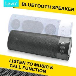Wholesale Mini Sound Box Boombox - Bluetooth Mini Sound Box Subwoofers Wireless Bass Speaker Boombox With Removable 600mAh Lithium Battery LEVN 258B-Bl