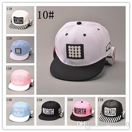 02c194360322e Wholesale - Fashion men and women baseball caps flat hats hip-hop hats  summer adjustable casual caps A0289