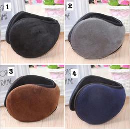 Wholesale Winter Accessories Ear Muffs - Super soft men ear warmer cover rabbit hair ear warm winter women ear muffs 4 colors Fashion Accessories YYA642