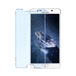 Wholesale Film Blue Ray - Anti Blue Ray Tempered Glass for Samsung Galaxy Note 3 Note 4 Note5 A5 A7 A9 On5 On7 Blue Light Eyes Protective Film