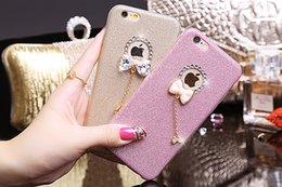Ultra Mince 3D Papillon Bowknot Mignon De Luxe Paillettes De Diamant Strass Doux TPU Gel Case Pour iPhone 5 5S SE 6 6S Plus 6 Plus iPhone6 ? partir de fabricateur
