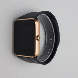 Wholesale Iwatch Wrist - Smart Watches iwatch A8+ GT08+ Bluetooth Connectivity for iPhone Android Phone Smart Electronics with Sim Card Push Messages