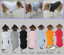 Wholesale Cheap Big Dog Clothes - Larger Dog Sweatshirt hoodie Cheap Winter Dog Clothes Big Dog Clothes Apparel Golden Retriever Coat pet product