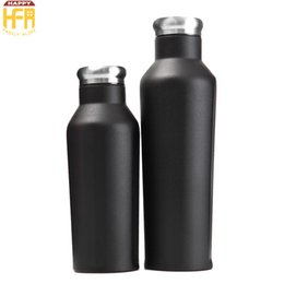 Wholesale Hot Cool Water - Hot Sale Stainless Steel Cups Water Cups Thermos Water Cup Keep Drinks Cooling Warm Vacuum Bottle Bartending Mixed Drink Bottles