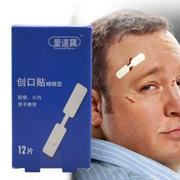 120pcs / 10boxes 1cmx4.5cm bande imperméable à l'eau aide papillon adhésif bande de fermeture des plaies aide bandages adhésifs d'urgence ? partir de fabricateur
