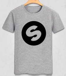 Wholesale Breathable Costs - DJ Arno Cost Spinnin Records Music Festival Band World High Quality Casual Pure Color T-shirt Men Slim T Shirt Party Top Tee