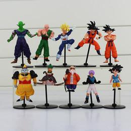 Wholesale Master Roshi Figure - Dragon Ball Z Gohu Master Roshi Piccolo Tenshinhan Gohan Trunks PVC Figure Toys for kids toy free shipping EMS
