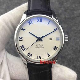 Wholesale rome steel - Rome Number Luxury Brand Automatic Watch Steel Mens Leather Strap Glass Back Business Men's Wristwatch Dress Casual women's fashion Watches