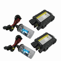 Wholesale Hid Brightness - High brightness New Free shipping 35W Xenon HID Conversion Slim Kit H3 4300K 5000K-----15000K