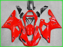 Wholesale Customize Yzf R1 - Customized red Fairing kit for YAMAHA YZFR1 00 01 Injection mold YZF R1 2000 2001 YZF1000 yzfr1 ABS Fairings set