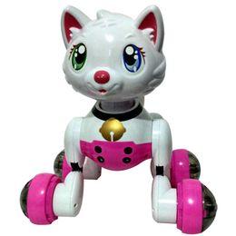 hunde elektronische haustiere Rabatt Youdi Sprachsteuerung Hund Katze Smart Robot Elektronische Hund Katze Sprachsteuerung Pet Programm Tanzspaziergang Roboter Haustiere MG010 Sprachsteuerung Hundespielzeug
