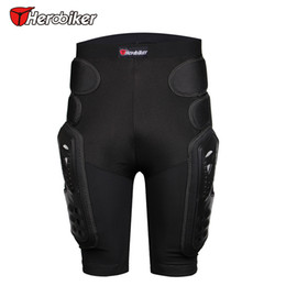 Wholesale Padded Hips - Breathable Motocross Knee Protector Motorcycle Armor Shorts Skating Extreme Sport Protective Gear Hip Pad Pants