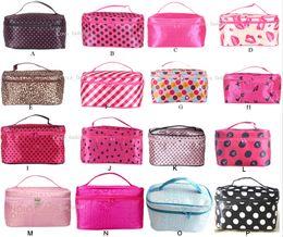 Wholesale Wholesale Cosmetic Cheap - Hot Sale 22 Colors Many Designs Cheap wholesale Women's Travel Makeup quartet cosmetic Bag DHL Free Shipping
