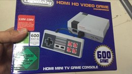 Wholesale Pal Ntsc Hdmi - 600 HDMI nes Out Retro Classic Game TV Video Handheld Console Entertainment System Built-in 600 Classic Games For NES Mini Game PAL&NTSC
