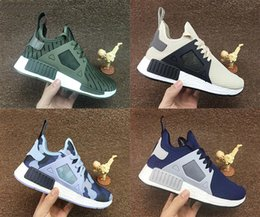 Wholesale Free City Shoes - 2016 With Box NMD XR1 Duck Camo X City Sock Pk Wool Boost for Top quality Fashion Running Shoes Size 36-45 Free Shipping