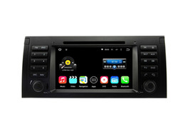 Wholesale E39 Bluetooth - 7'' Quad Core Android 5.1.1 Car DVD Player For E39 E53 M5 For BMW With Stereo Radio GPS Map Wifi BT