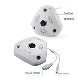 Wholesale Outdoor Intercom Camera - J430W 3MP Panoramic MIni camera Full HD IP Camera Support Infrared Night Vision Voice Intercom H264 ONVIF PTZ 1.44mm Zoom lens AT