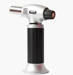 Wholesale New Gas Power - New 1300C 2500F Butane Scorch torch jet flame Giant Heavy Duty Refillable Micro torch BS-400 Automatic Ignition Butane Powered Pro-Torch