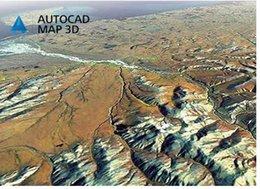 Wholesale Internet Maps - Autodesk AutoCAD Map 3D 2018 Full version 64bit