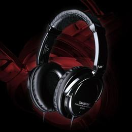 Wholesale Takstar Dj Headphones - Takstar T&S HD2000 Monitor's Earphones hd 2000 Stereo Audio Mixing Recording Professional Monitor Headphones DJ Headset
