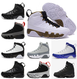 Wholesale Elastic Shoes - 2017 air high Retro 9 men basketball shoes Space Jam Anthracite Barons The Spirit doernbecher 2010 release countdown pack Athletics Sneakers