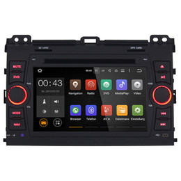 "Wholesale Toyota Cruiser - Joyous 7"" Quad Core Android4.4.4 Car Stereo car DVD Player For Toyota Prado Land Cruiser 120 Capacitive In Dash GPS Navigation with canbus"