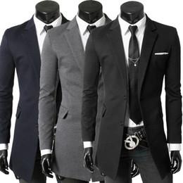 Wholesale slim suit small men - 2016 Spring and Autumn leisure Suits Men Slim small suit coat England Blazer masculino men blazer slim fit men suit jacket