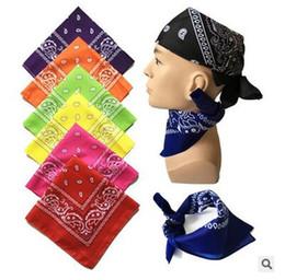 Wholesale Headscarf Camouflage - Headband Outdoor Sport Scarf Mask Cycling Bandana Magic Hip-hop Bandanas Head Scarves For Male Female Unisex Multi Colour Headscarf