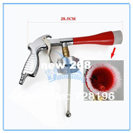 Wholesale Pneumatic Cleaner - High Quality Pneumatic Car Cleaning Gun With Brush Head Air Car Washer Cleaning Gun Tool