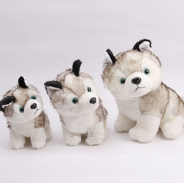 Wholesale Wholesale Stuffed Dogs - husky dog plush toys stuffed animals toys hobbies 7 inch 18cm Stuffed Plus Animals Add to Favorite Categories #45151