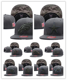 Wholesale Sports Teams Snapbacks - 2017 New Football Snapback Adjustable Snapbacks Hip hop Flat hat Sports Team Quality Caps For Men And Women Free shipping