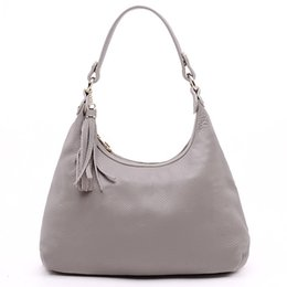 Wholesale Ladies Fashion Shoulder Hand Bags - High Quality Brand Hand Bags real Leather Totes For Ladies 2017 New Arrival Fasahion Shoulder Bag