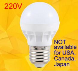 Wholesale Super Bright White Led E27 - LED Bulbs E27 Globe Bulbs Lights 3W SMD2835 LED Light Bulbs Warm White Super Bright Light Bulb Energy-saving Light