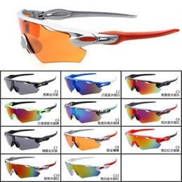 Wholesale Sunglasses Road Cycling Goggles - Road Bike Goggles Eyes Protector Outdoor Sports Bicycle Sunglasses Glasses UV400 Cycling Eyewear Goggles Stretch Frame YC2150