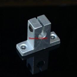 Wholesale Linear Support 8mm - 10pcs linear rail shaft 8mm SK8 SH8A Linear Rail Shaft Support XYZ Table CNC cnc alignment