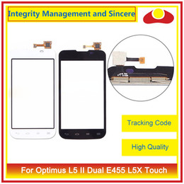 """Wholesale Lg L5 Touch Screen - High Quality 4.0"""" For LG Optimus L5 II E460 E450 L5 II Dual E455 L5X Touch Screen Digitizer Outer Glass Lens Panel"""