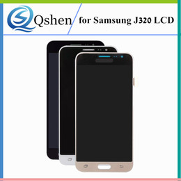 Wholesale Galaxy Screen Assembly - High Copy For Samsung Galaxy J320 J3 2016 LCD Display Touch Screen Assembly Digitizer J320 Replacement
