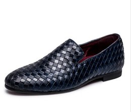 buckle driving loafer for men UK - 2018 Men Shoes luxury Brand Braid Leather Casual Driving Oxfords Shoes Men Loafers Moccasins Italian Shoes for Men Flats