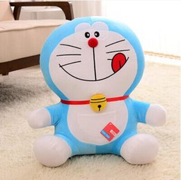 Wholesale Cute Birthday Doraemon - Cute Doraemon a dream doll jingle cat Doraemon doll plush toys birthday gift for men and women to marry pillow free shipping