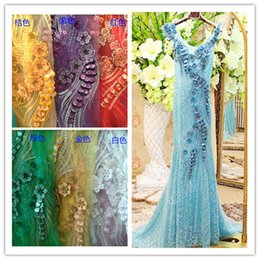 Wholesale Chinese Dress Factory - Factory direct selling all polyester embroidery cloth to apply to the Chinese dress, stage clothing, performance clothing and other material