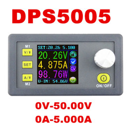Wholesale power supply constant current - DPS5005 0V-50.00V Constant Voltage meter 0-5.000A current tester Step-down Programmable Power Supply module regulator converter
