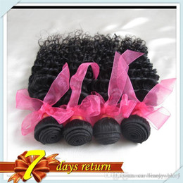 Wholesale Brazilian Curly Virgin Bulk Hair - Deep Wave Cheap Malaysian Virgin One 50gram Unprocessed Hair Products Malaysia Virgin Human Hair Curly Bulk Price Free Shipping