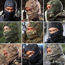 Wholesale Multicam Camouflage - Loveslf new colorful camouflage multicam balaclava tactical airsoft hunting outdoor military ski windproof protect fullface mask.